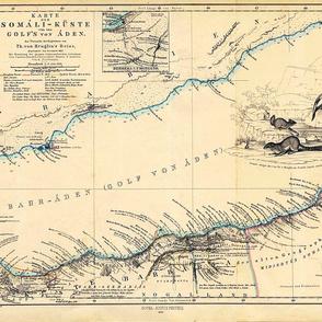 "1860 Gulf of Aden (28""W)"
