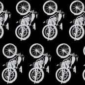Vintage Grey Motorcycles // Vertical