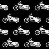 White Harleys // Small
