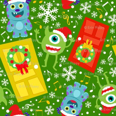 Little Monster Christmas Carols