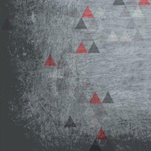 Fragmented Bulls and Roses_Triangles