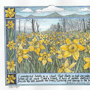 Daffodils/Wordsworth verse