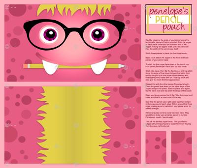Penelope's Pencil Pouch
