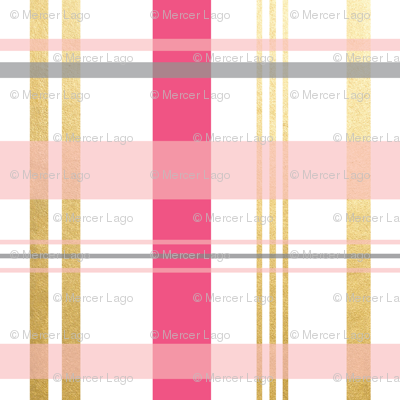 pinks gold grey gray plaid-01