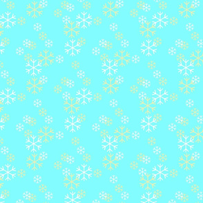 christmas snowflake frost