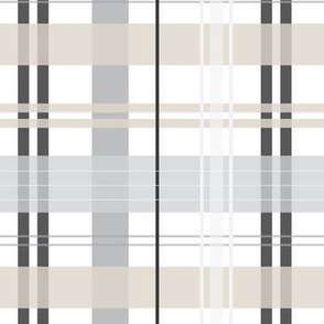 french grey plaid gray plaid french gray buffalo check