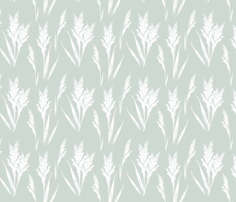 Farmhouse wheat geen-01 fabric by dicksonme on Spoonflower - custom fabric