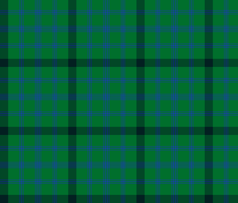 "Montgomerie green tartan, 6"" fabric by weavingmajor on Spoonflower - custom fabric"