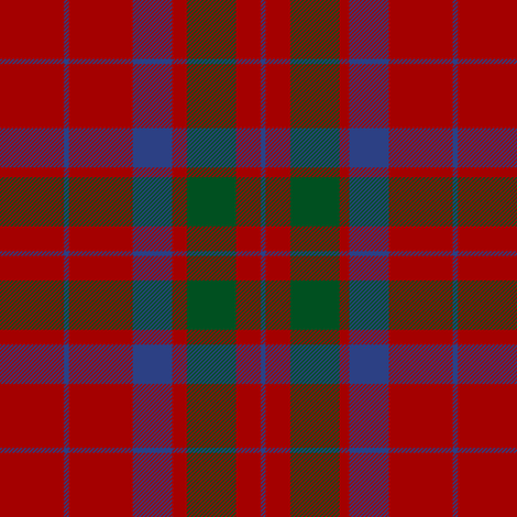 "MacFadyan tartan, 6"" fabric by weavingmajor on Spoonflower - custom fabric"