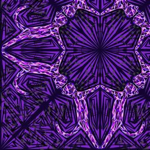 Dark Purple Cat Fragmentation