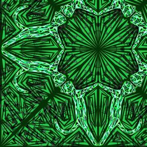 Green Cat Fragmentation