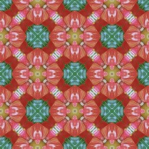 Ornate Floral Photo Pattern
