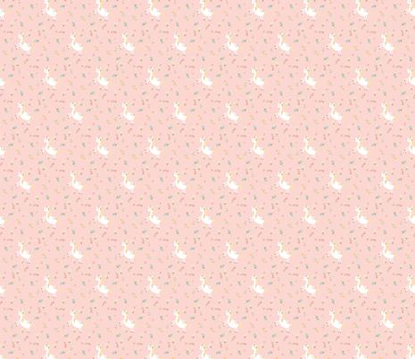 Unicorn Blush Pink fabric by aenne on Spoonflower - custom fabric
