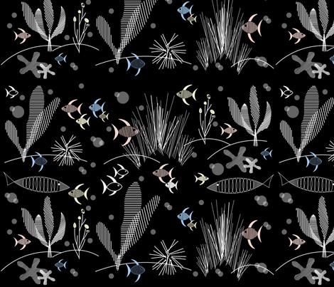 Hepcats Haven Fish fabric by hepcatshaven on Spoonflower - custom fabric