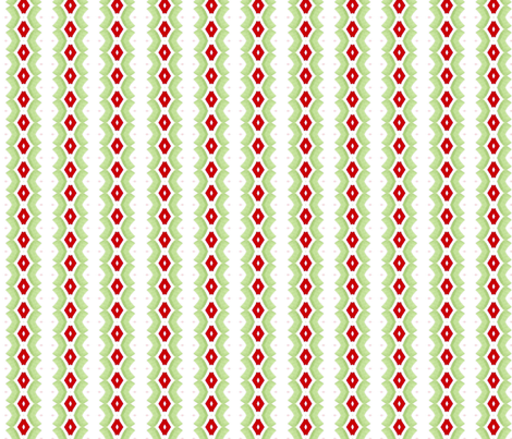 Christmas Is On The Way fabric by jessica_barber on Spoonflower - custom fabric