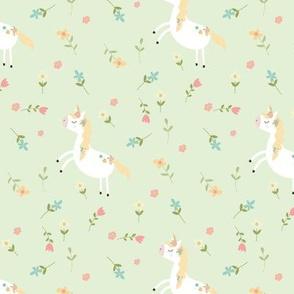 Unicorn Mint Green
