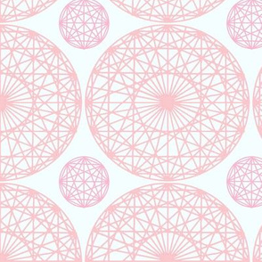 Double Geometry Pink