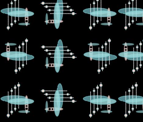 Atomic Bars fabric by hepcatshaven on Spoonflower - custom fabric