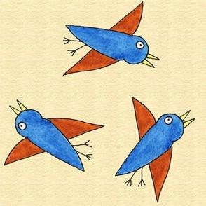 Birdies Flying