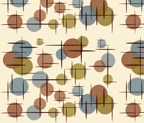 Dot and Dash fabric by hepcatshaven on Spoonflower - custom fabric
