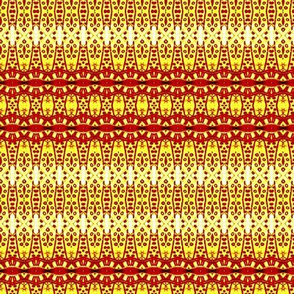 Saffron India Print