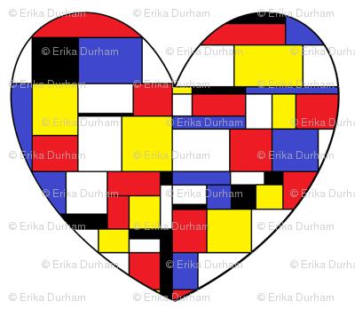 I Heart Mondrian