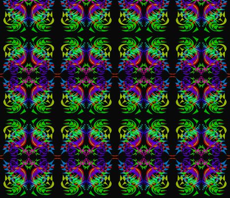 Purple-Dreaming Dragon fabric by rhondadesigns on Spoonflower - custom fabric