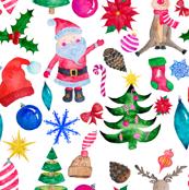 """12"""" Santa Reindeer"""