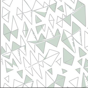 Catchy Triangle Pattern Abstract2