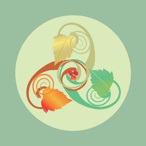 Three Hawthorn Leaves