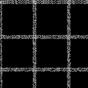 Large black check white on black white squares white check