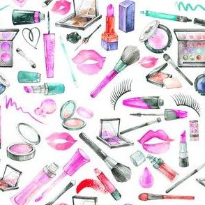 """Makeup 2 Hot Pink 6"""""""