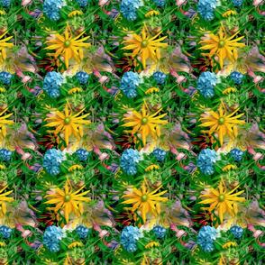 Helio Collage Sunflower Repeat