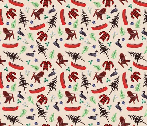 Big Moose Lake fabric by emmabrereton on Spoonflower - custom fabric