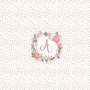monogram A - centered on FQ