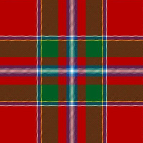 Perthshire / Drummond of Perth tartan, 6""