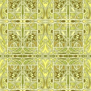 Lemony Lime Vine Design