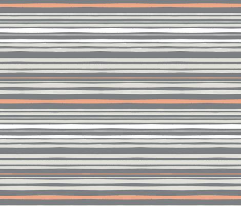 Stripes fabric by onelittleprintshop on Spoonflower - custom fabric