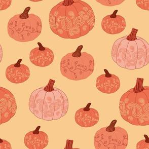 pumpkin paisley