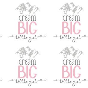 9 Inch Dream Big - Shifted Right