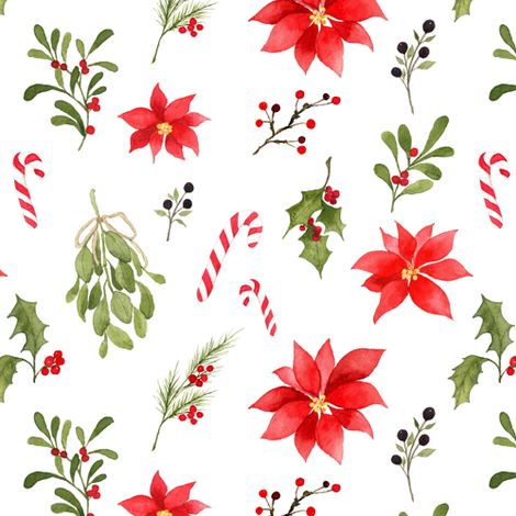 Christmas Spirit fabric by mintpeony on Spoonflower - custom fabric