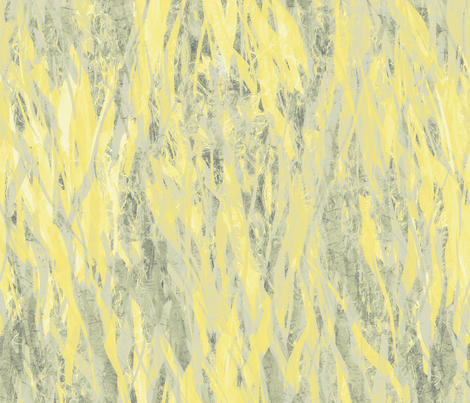 flame and smoke-yellow gray taupe fabric by wren_leyland on Spoonflower - custom fabric