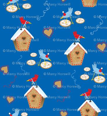 Tweet Gingerbread Houses
