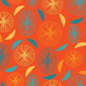 Orange-Confetti