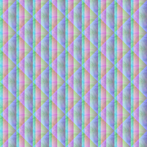 Seamless Pastel Marbled Diamonds