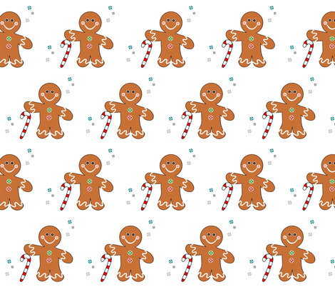 Gingee fabric by simply_life on Spoonflower - custom fabric