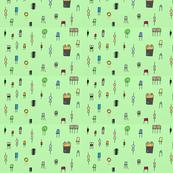 Composants électronique vert - Electronic components green (6_002)