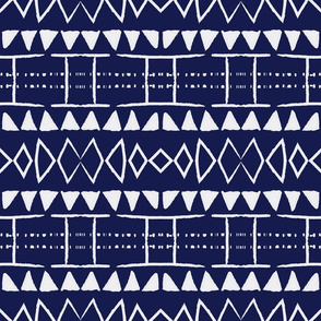 indigo blue new mudcloth mudcloth african mud cloth mali