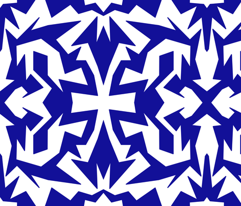 fragmentation fabric by lbehrendtdesigns on Spoonflower - custom fabric