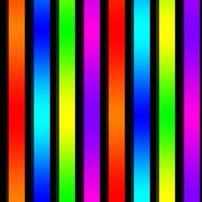Rainbow Gradient Stripes